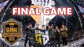 Download PUBG GLOBAL CHAMPIONSHIP WINNER GEN.G - FINAL GAME - Pio, Loki, Esth3r & Taemin Video