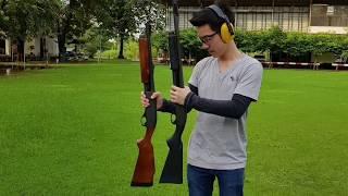 Download Remington 870 14 นิ้ว 18 นิ้ว กลุ่มกระสุนตัวไหนดีกว่ากัน? Video