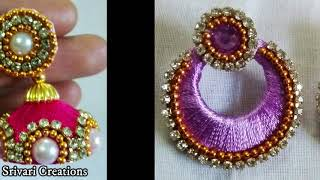 Download Silk Thread Earrings designs Video