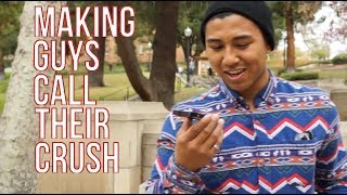 Download Making Guys Call Their Crush For A Date Video