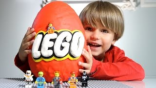 Download Giant Lego Surprise Egg made of Play-Doh Video
