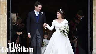 Download Princess Eugenie and Jack Brooksbank: video highlights of the royal wedding Video