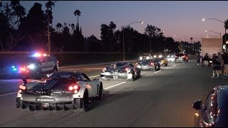 Download $45Million Worth of Pagani's CAUSE CHAOS in Newport! Video