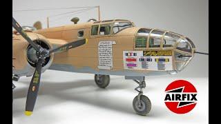 Download Airfix 1:72 B-25 C/D Mitchell Video