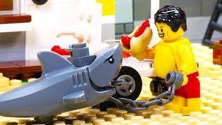Download Lego Shark Attack - Fat Lego Video