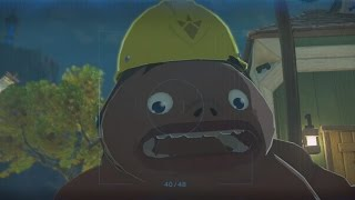 Download Zelda: Breath of the Wild - NPCs getting scared by Dark Link Video