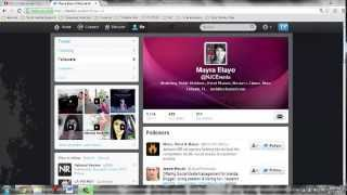 Download How To Use Twitter - The Basics Video
