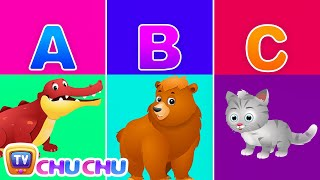 Download Alphabet Animals – Learn the Alphabets, Animal Names & Animal Sounds | ChuChu TV ABC Songs for Kids Video