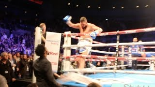 Download TONY BELLEW LOSES THE PLOT, JUMPS OUT OF RING, KICKS TOBLERONE AT DAVID HAYE IN ANGER RAGE Video