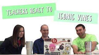 Download TEACHERS REACT TO ICONIC VINES| Yep that's Moe ft. Http.morgan Video
