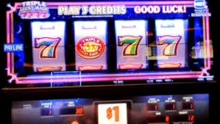 Download Triple Lucky 7 Slot Machine Live Play - $1 PER SPIN Video
