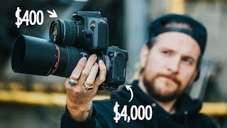 Download Can a Professional Photographer spot the difference? $400 Camera VS $4,000.00 Camera Video