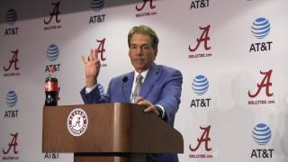 Download Nick Saban Press Conf A DAY Video
