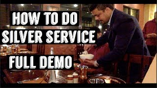 Download HOW TO DO SILVER SERVICE ?| FULL DEMO | Video