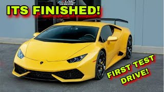 Download REBUILDING A WRECKED LAMBORGHINI HURACAN IS OFFICIALLY COMPLETE!!! PART 6 Video
