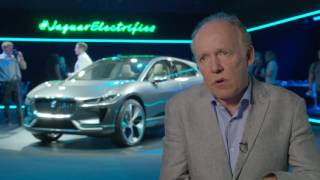 Download 2018 Jaguar I-PACE - Interview Ian Callum, Director of Design   AutoMotoTV Video