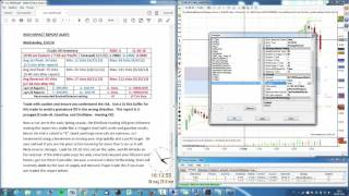 Download Trade The News - Crude Oil Inventories - CL Video