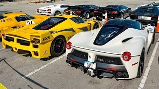 Download LaFerrari vs Ferrari FXX Start Up and INSANE Acceleration! Video
