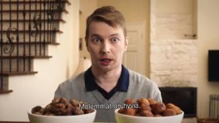 Download APETIT – Tolkun ihminen toteaa Apetit Kasvisjauhisten olevan yhtä hyviä, kuin mummon lihapullat Video