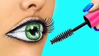 Download Easy Halloween Makeup Tutorial Compilation / Weird Makeup Ideas / Body Paint Illusions Video