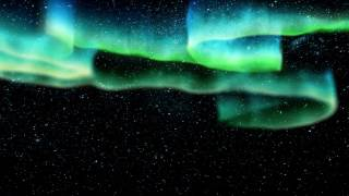 Download Northern Lights and Shooting Stars | 4K Relaxing Background Video
