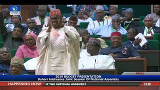 Download Full Speech Of President Buhari At NASS Pt.3 |Live Event| Video