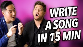 Download I Wrote A Love Song With Michael Bublé In 15 Minutes Video