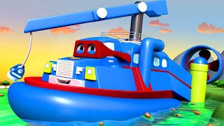Download XE LỘI NƯỚC - Siêu xe tải Carl 🚚⍟ những bộ phim hoạt hình về xe tải l Vietnamese Cartoons for Kids Video