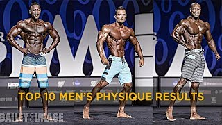 Download (HIGH QUALITY) TOP 10 Mr Olympia 2017 Men's Physique Results - Full Posing Video