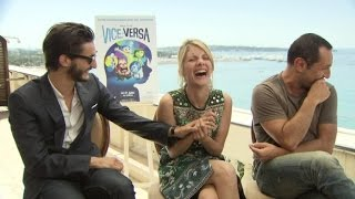 Download ″Vice versa″: le fou-rire de Mélanie Laurent, Pierre Niney et Gilles Lellouche Video