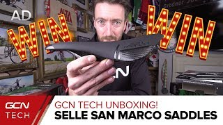 Download Unboxing Selle San Marco Saddles | GCN Tech Unboxing Video