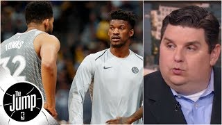 Download Jimmy Butler to meet with Wolves brass: Is a trade next?   The Jump   ESPN Video