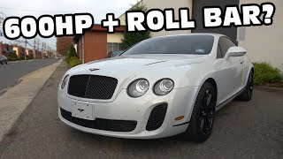 Download Bentley with Factory Race Seats and Roll Bar for $95,000? Video