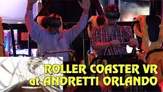 Download Gear Coaster Roller Coaster VR Experience at Andretti Indoor Karting & Games Orlando Video