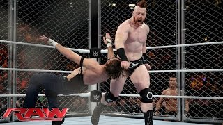 Download Dean Ambrose vs. Sheamus - Steel Cage Match: Raw, December 21, 2015 Video