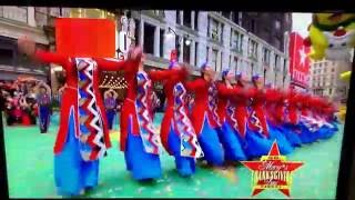 Download Sayat Nova Dance Co. performs at 90th Macy's Thanksgiving Day Parade Video
