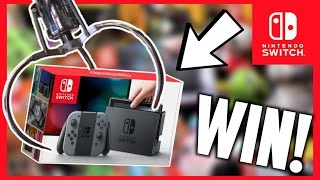 Download ★Winning A Nintendo Switch From The Claw Machine!! Arcade Crane Game Win!! Video