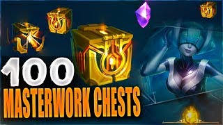 Download NEW MASTERWORK CHESTS 100+ OPENING - New Hextech Chests - League of Legends Video
