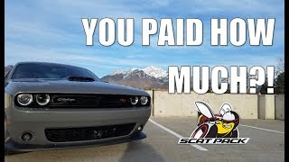 Download WHY I BOUGHT THE DODGE CHALLENGER 392 HEMI SCAT PACK SHAKER + ALL THE FEATURES + HOW MUCH I PAID Video