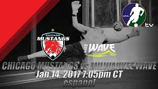 Download Chicago Mustangs vs Milwaukee Wave (Espanol) Video