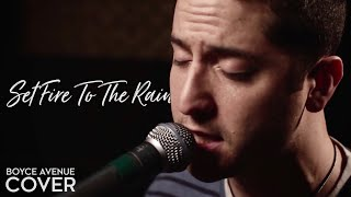 Download Adele - Set Fire To The Rain (Boyce Avenue cover) on Spotify & Apple Video