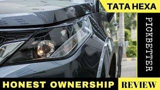 Download Tata Hexa Honest Review   User Feedback Video
