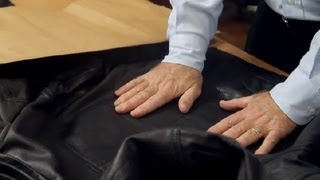 Download How to Unwrinkle a Leather Jacket : Leather & Fabric Care Video