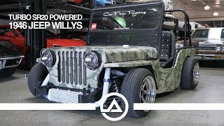 Download WTF?? A Turbo SR20 Swapped & Dropped 1946 Jeep Willy's!! Video