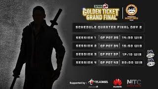 Download GAMEZ GOLDEN TICKET SQUAD   QUARTER FINAL DAY 2 Video