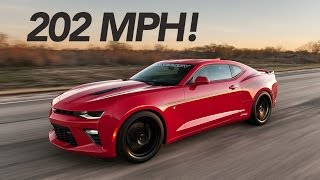 Download 2016 Hennessey Camaro SS Runs 202 MPH! Video