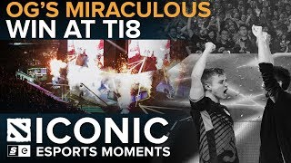Download ICONIC Esports Moments: OG's Miraculous Win at TI8 Video