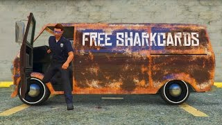 Download GIVING OUT FREE SHARKCARDS IN GTA 5 ONLINE WITH THE NEW YOUGA CLASSIC! (GTA 5 Funny Moments) Video