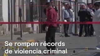 Download Aumentan los índices de violencia criminal en México -Noticias con Karla Iberia Video