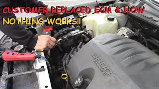 Download Buick LeSabre: Customer Replaced ECM Now A No Start, No Lights, NO NOTHIN! Video